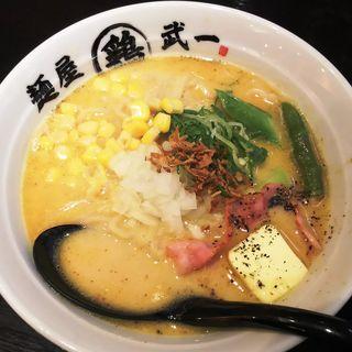 北海道の恵 味噌ラーメン(麺屋 武一 アトレ川崎店)