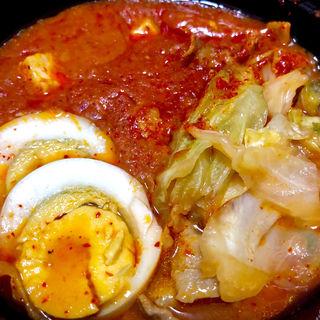 蒙古丼弁当(蒙古タンメン中本 渋谷店)