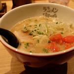 魚介とんこつラーメン  明太子トッピング