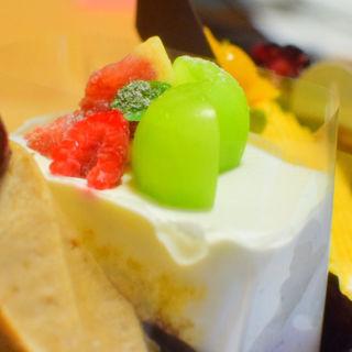 季節のショートケーキ(PATISSERIE ASAKO IWAYANAGI)