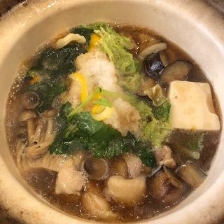 鍋焼きうどん(花旬庵 恵比寿店 (かしゅんあん))