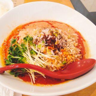 濃厚汁なし担担麺(ごまる )