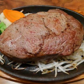 鶏モモ肉200g+リブロース120g(筋肉食堂 )