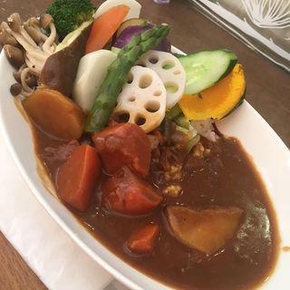 野菜たっぷりカレー(ハピ・マルシェ (Hapi Marche 【旧店名】ハピ・マルシェ プチ))