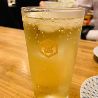下町酎ハイ(もつ焼たつや 町屋店 )