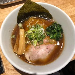 焼きアゴ醤油麺(らーめん みふく )