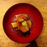 鴨と海老芋の治部煮