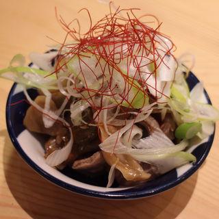砂肝ザーサイ(大衆食堂おへそ。)