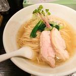 塩生姜らー麺 (塩生姜らー麺専門店 MANNISH (マニッシュ))