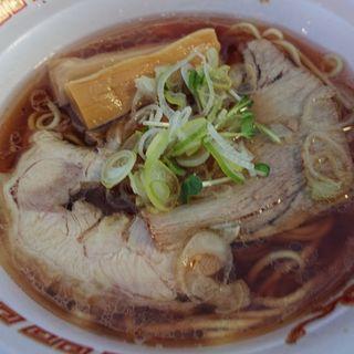 地鶏と秋刀魚の醤油らぁ麺(イベント)(らぁ麺 とうひち )