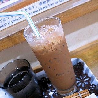 アイスコーヒー練乳入り(バインミー シンチャオ)