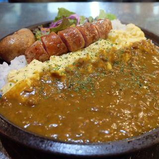 富良野オムカレー風カレー(タビ カフェ (TABI CAFE))