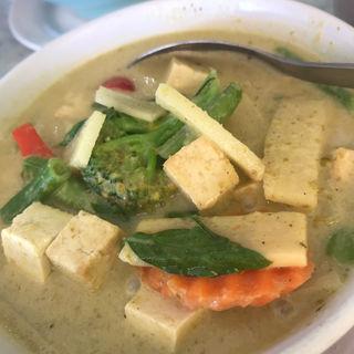 Green curry veg&tofu