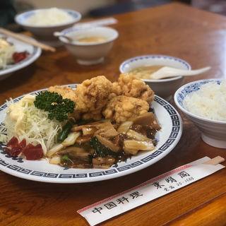 サービスランチ(八宝菜)
