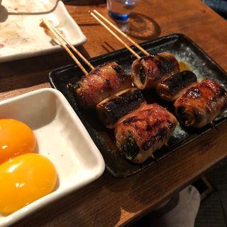 とき卵につけて食べる 「すきやき」(ジョウモン 六本木店 )