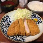 ロースカツ定食(大)