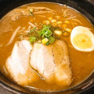 味噌ラーメン(平野台の湯 安庵)