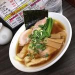 ワンタン麺チャーシュープラス