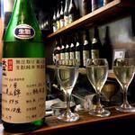 太平山 無圧取り 蔵人直詰 純米酒 生酛純米 無濾過生 別誂(焼鳥はなび)