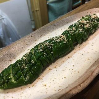 きゅうり1本ビール漬(九州 海鷹 清川店)