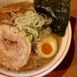 シークレットメニュー/Wスープ塩ジョロ=ジンジャー(麺屋 すずらん)