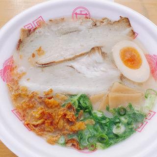 福島鶏白湯~とろ肉のせ~