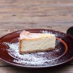 姫路生姜と蜂蜜のベイクドチーズケーキ
