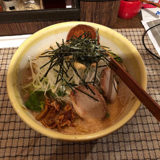 ネギ味噌ジャン麺(ABCらーめん)
