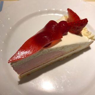 ホワイトチョコと木苺のタルト(デリス 銀座店)