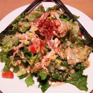 棒々鶏サラダ(個室居酒屋×名古屋コーチン 鳥将 川崎店)