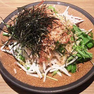 大根のシャキシャキ梅風味サラダ(やきとりセンター 川崎リバーク店)