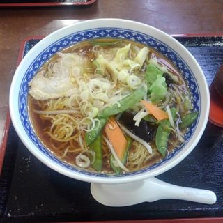 野菜ワンタン麺(もうもう亭 (モウモウテイ))
