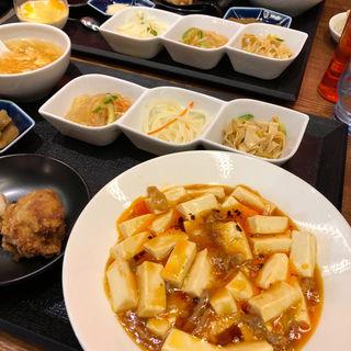 麻婆豆腐定食(楽仙樓 (楽仙楼 ラクセンロウ))