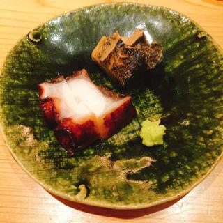 蛸と鮑の柔らか煮(鮨 大地 )