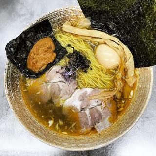 上海蟹らーめん しお(覆麺 智 (ふくめん とも【旧店名】覆麺))