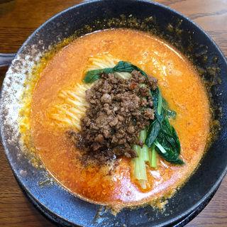 汁あり坦々麺(中国四川料理 錦水苑)
