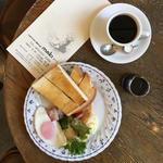モーニングトースト(平日限定)(コーヒーハウス マキ (COFFEE HOUSE maki))