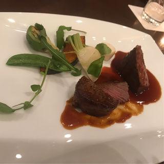 国産牛のステーキ 赤ワインソース(ラソールガーデン ダイニング グリルアンドステーキ)