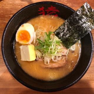 桃猿(桜えび)味噌ラーメン(麺や猿 )