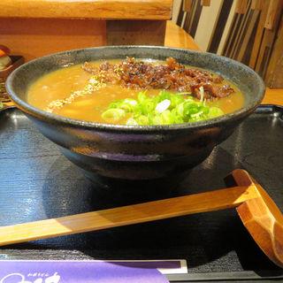 炙り肉カレーうどん(和菜うどん 快)