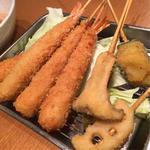 海老フライ、野菜フライセット