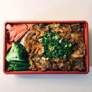 ほっかけ六甲味噌炙り弁当(神戸ビフテキ亭デリ (KOBE BIFUTEKITEI DELI))