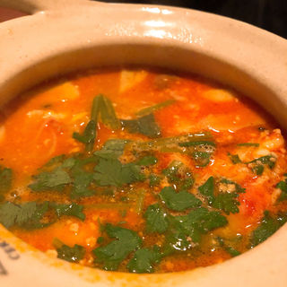 トムヤムクン(海老の辛酸スープ)(ジャスミンタイ 六本木店 (JASMINE THAI))