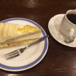 ケーキセット(ローズカフェ )