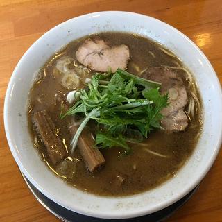 中華そば(こってり)(麺饗 松韻 )