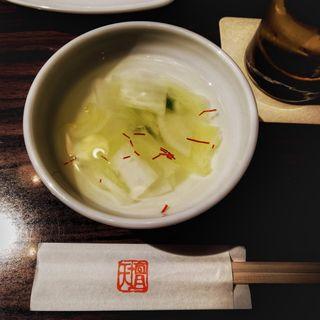 水キムチ(天壇  赤坂店 )