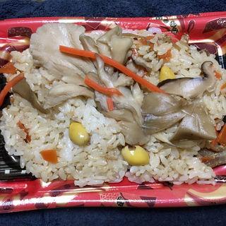 道産舞茸ご飯(ディナーベル ススキノ南7条店)