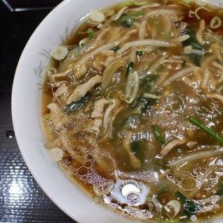 ロースタンメン(豚肉・野菜あんかけ)(中華料理 千日前)