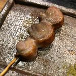 真鴨串(焼き鳥 松元 西中洲本店)