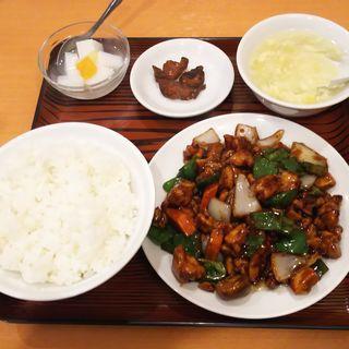 鶏肉の中華風味噌炒め(美山飯店)
